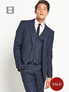 taylor-reece-mens-slim-fit-big-check-suit-jacket