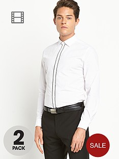 taylor-reece-mens-shirts-contrast-tipping-2-pack-whiteblack