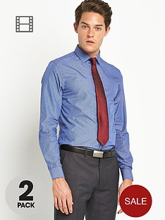 taylor-reece-mens-micro-shirts-2-pack-blueburgundy