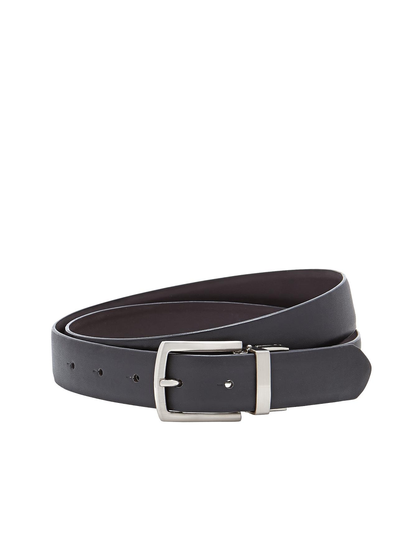 Mens Reversible Belt, Black
