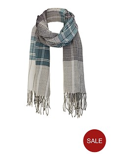 mens-checked-scarf