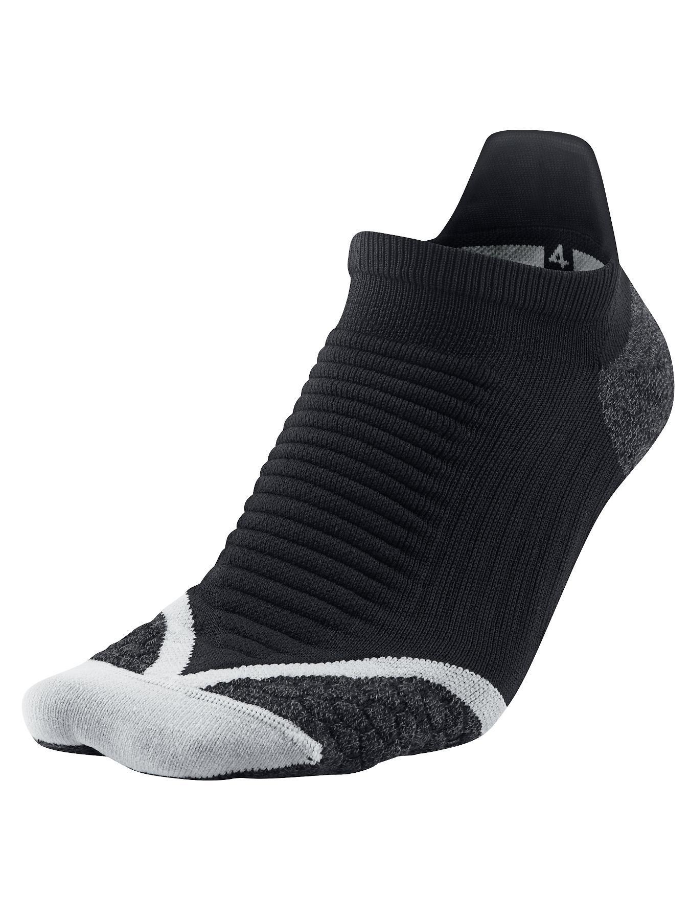Elite Mens Cushioned Running Socks, Black at Littlewoods