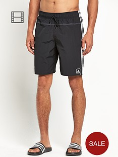 adidas-mens-3-stripe-shorts