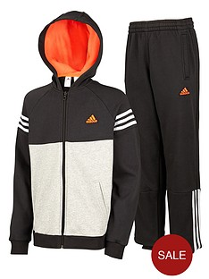 adidas-youth-boys-3-stripe-fleece-tracksuit
