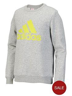 adidas-youth-boys-essentials-logo-crew-sweater