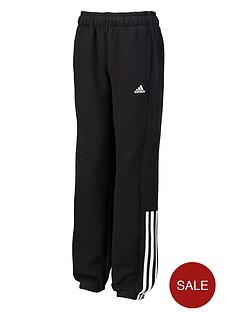 adidas-youth-boys-essentials-mid-3-stripe-fleece-pants