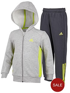 adidas-little-kids-hojo-fleece-suit-greyyellow
