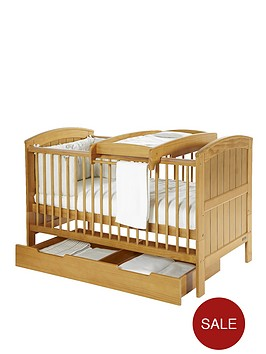 mamas-papas-hayworth-cot-bed-cot-top-changer-and-undercot-storage-unit