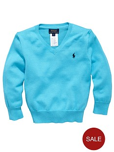 ralph-lauren-long-sleeved-v-neck-sweater