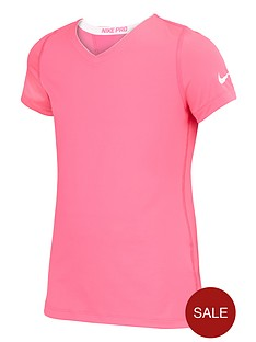 nike-youth-girls-pro-fitted-tee