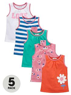 ladybird-girls-jersey-colour-and-print-vests-5-pack-1-year-to-7-years