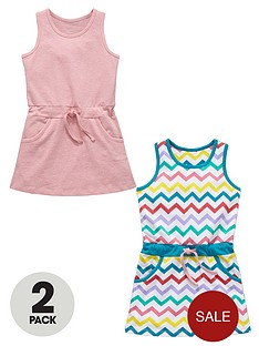 ladybird-girls-jersey-zigzag-dresses-2-pack-1-year-to-7-years
