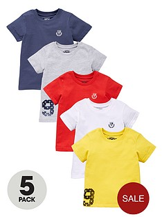 ladybird-boys-tees-5-pack
