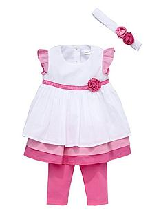 ladybird-baby-girls-frill-dress-leggings-and-headband-set-3-piece