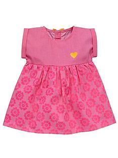 ladybird-baby-girls-neon-floral-print-dress