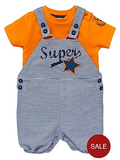 ladybird-baby-boys-super-t-shirt-and-dungaree-set-2-piece