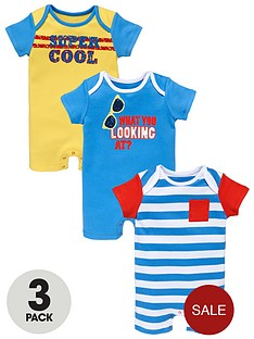 ladybird-baby-boys-super-cool-rompers-3-pack