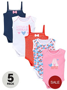 ladybird-baby-girls-bright-short-sleeve-bodysuits-5-pack