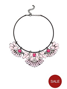 lipsy-floral-torque-necklace-pink