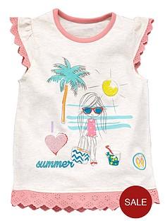 ladybird-girls-beach-print-t-shirt