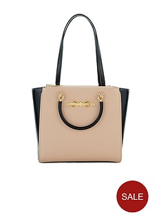 ted-baker-leather-bow-compartment-bag