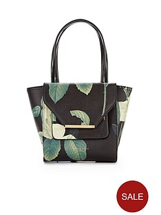ted-baker-floral-crosshatch-small-tote-bag
