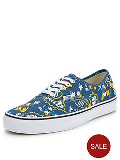 vans-authentic-disney-donald-duck-trainers