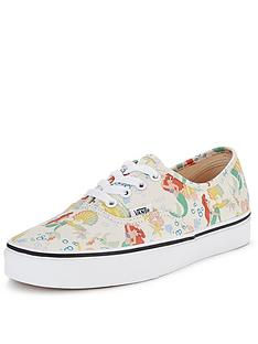 vans-authentic-disney-ariel-plimsolls