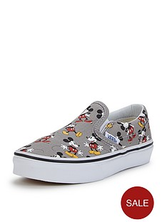 vans-classic-slip-on-disney-mickey-mouse-junior-plimsolls