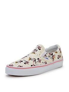 vans-classic-slip-on-disney-minnie-mouse-junior-plimsolls
