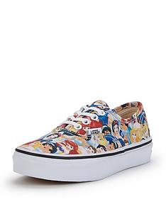 vans-authentic-disney-princesses-junior-plimsolls