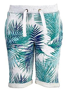 name-it-lmtd-boys-palm-print-sweat-shorts