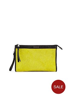 love-my-soul-textured-leather-yellow-clutch-bag