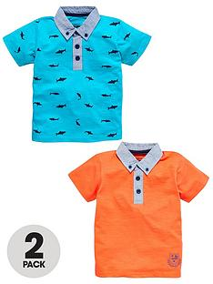 ladybird-boys-chambray-collar-polo-shirts-2-pack