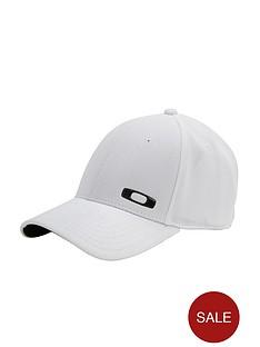 oakley-silicon-o-cap-white