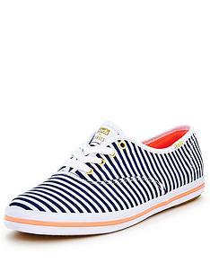 oasis-stripe-print-lace-ups