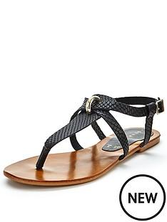 shoe-box-savannah-toe-post-sandals-black