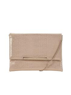 dune-metallic-clutch-bag