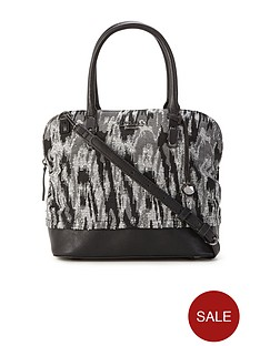 fiorelli-emme-grab-bag-black-abstract