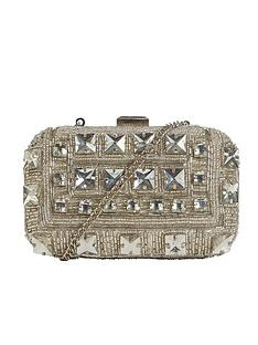 miss-selfridge-embellished-clutch-bag