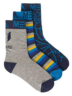 adidas-junior-messi-socks-3-pack