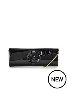 guess-amy-clutch-bag-black