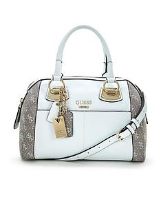 guess-logo-box-bag-white-multi
