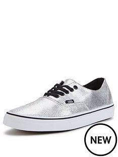 vans-authentic-decon-metallic-plimsolls