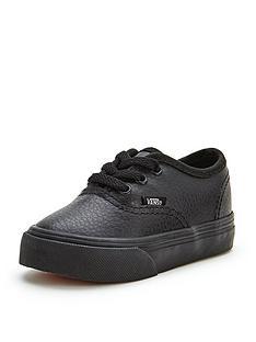 vans-authentic-leather-mono-toddler-plimsolls