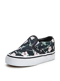 vans-classic-slip-on-floral-toddler-plimsolls