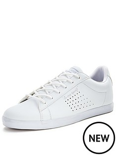 le-coq-sportif-agate-lo-syn-leather-trainers