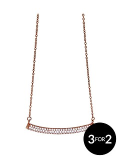the-love-silver-collection-sterling-silver-chain-necklace-with-white-crystal-stone-beads