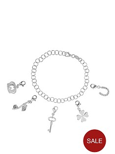 love-silver-sterling-silver-charm-bracelet-complete-with-five-charms