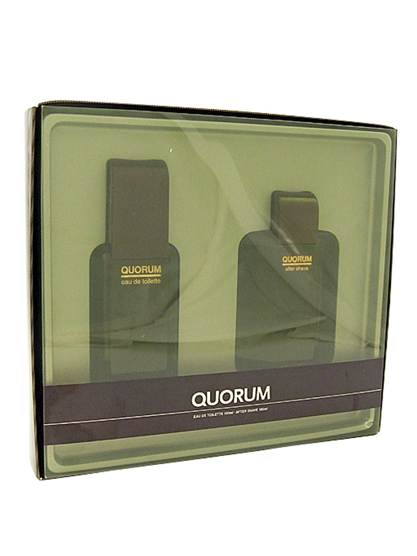 Quorum 100ml EDT and 100ml Aftershave Gift Set